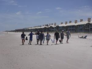 beach backpack task